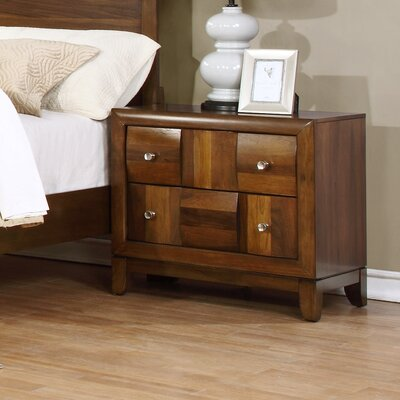 Calais 2 Drawer Nightstand