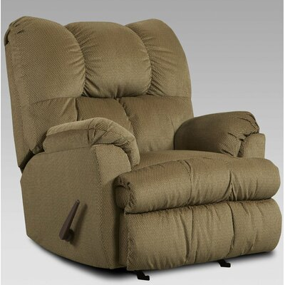 Moab Manual Recliner Upholstery: Mocha