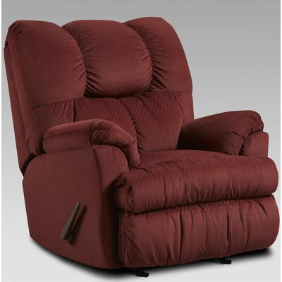Moab Recliner Upholstery: Wine
