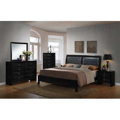Blemerey Platform 6 Piece Bedroom Set Size: King