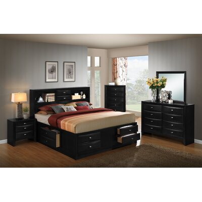 Blemerey Platform 6 Piece Bedroom Set Size: Queen
