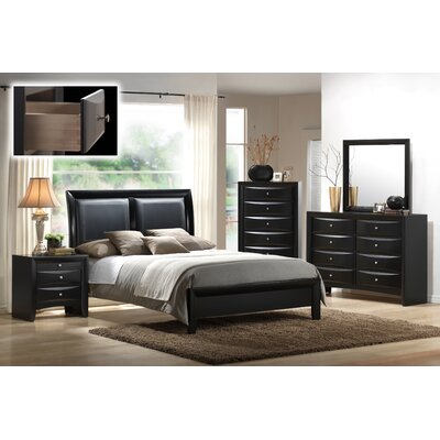 Blemerey Panel Customizable Bedroom Set Size: King