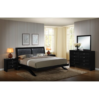 Blemerey 5 Piece Platform Bedroom Set Size: King
