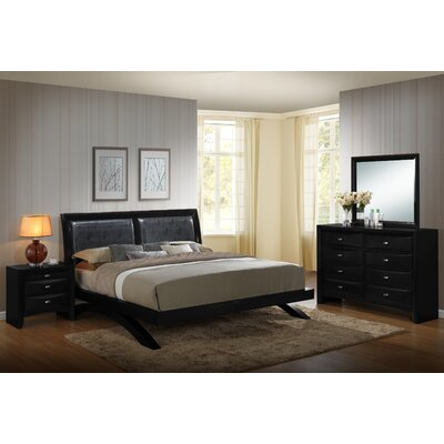 Blemerey 4 Piece Platform Bedroom Set Size: King