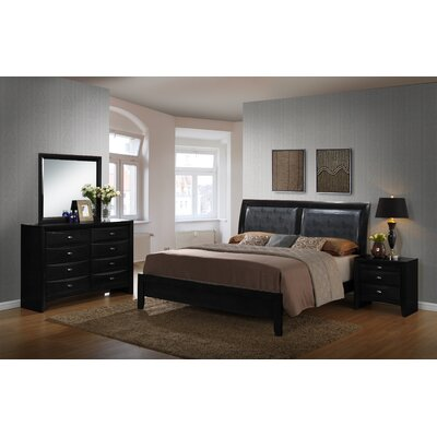 Blemerey Panel Customizable Bedroom Set Size: Queen