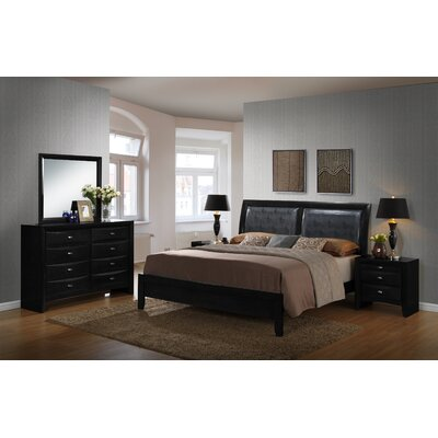 Blemerey 5 Piece Platform Bedroom Set Size: Queen