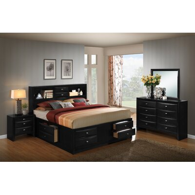 Blemerey Platform 4 Piece Bedroom Set Size: Queen
