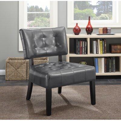 Anjotiya Slipper Chair Upholstery: Gray