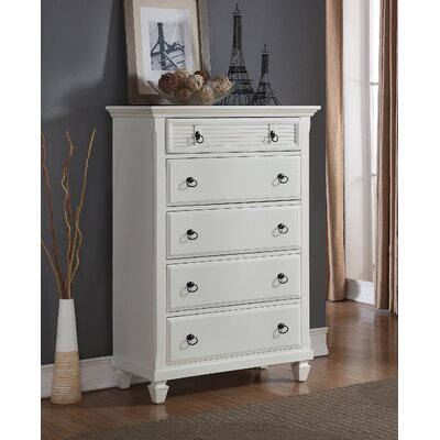 Regitina 5 Drawer Chest