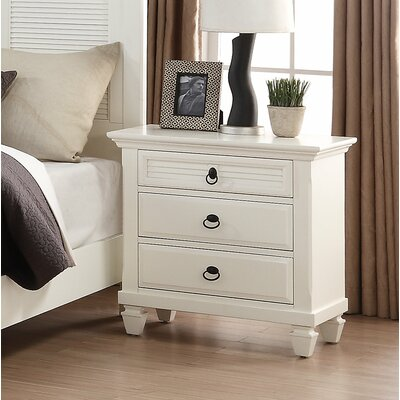Regitina 2 Drawer Nightstand
