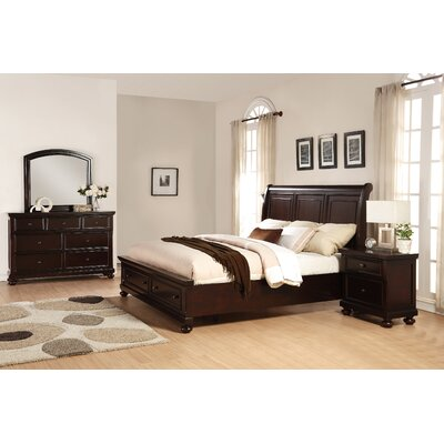 Brishland Platform 4 Piece Bedroom Set