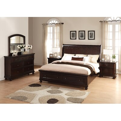 Brishland Platform 5 Piece Bedroom Set