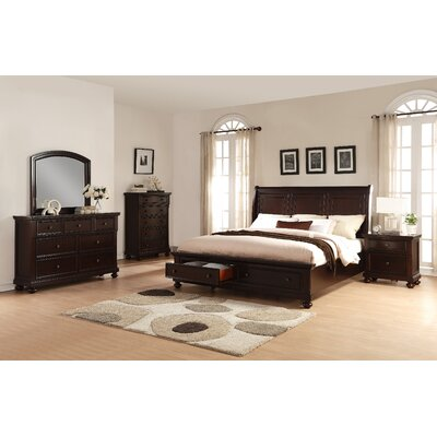 Brishland Panel 5 Piece Bedroom Set