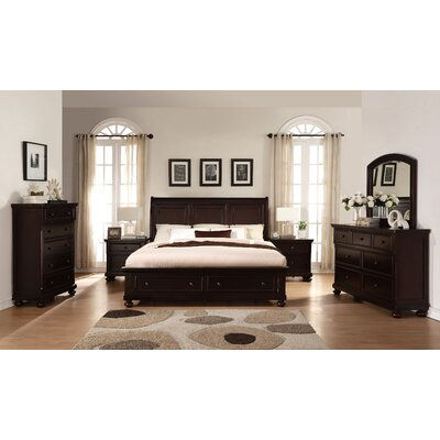 Brishland Platform 6 Piece Bedroom Set