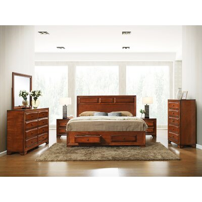 Oakland Platform Bedroom Set Size: Queen