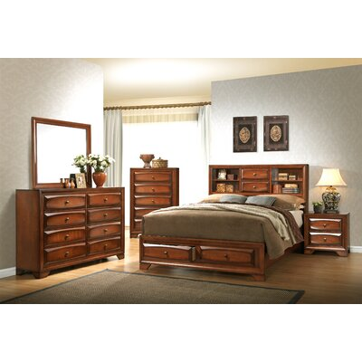 Asger King Platform Customizable Bedroom Set