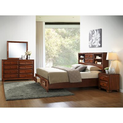 Asger Queen Platform Customizable Bedroom Set