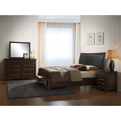 Broval Platform 4 Piece Bedroom Set