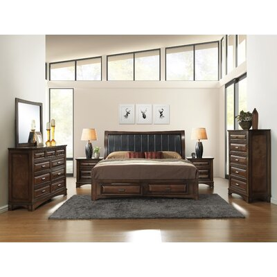 Broval Platform 6 Piece Bedroom Set