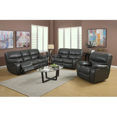 LRH9310GY Roundhill Furniture Gray Living Room Sets