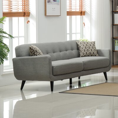 Modibella Sofa Upholstery: Gray