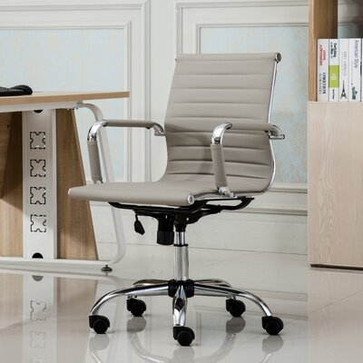 Panoton Contemporary Mid-Back Office Desk Chair OF1021TP