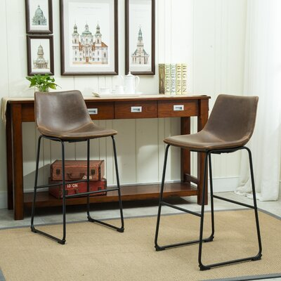 Lotusville 30.31 Bar Stool with Cushion
