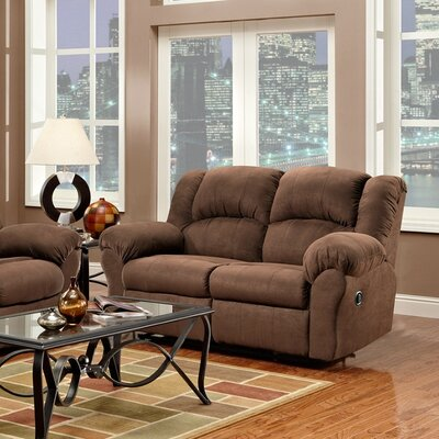 Aruba Dual Reclining Loveseat Upholstery : Chocolate