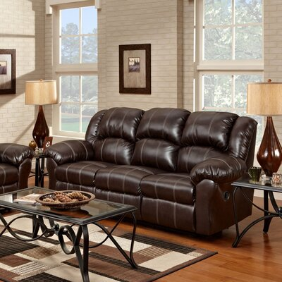 Aruba Dual Reclining Sofa Upholstery : Brown