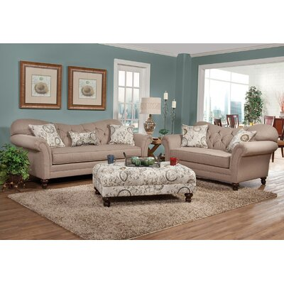Metropolitan 3 Piece Living Room Set
