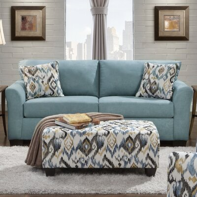 Norris Sofa Upholstery: Capri Blue