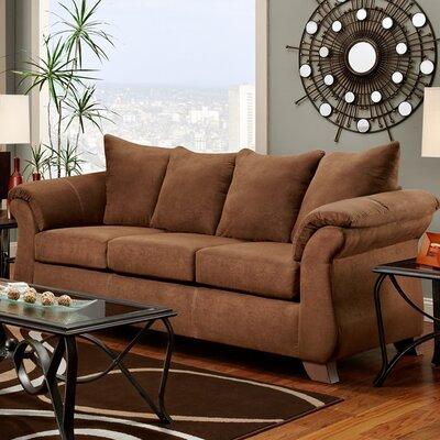 Norris Sofa Upholstery: Chocolate