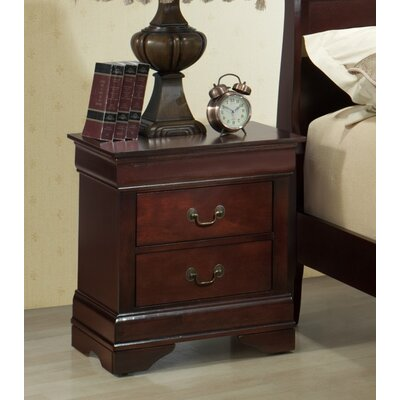 Isola Louis Philippe 2 Drawer Nightstand