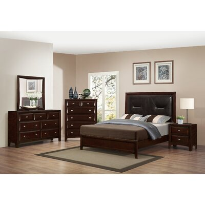 Mateo Platform Configurable Bedroom Set Size: Queen