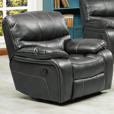 Ewa Manual Recliner Upholstery: Gray