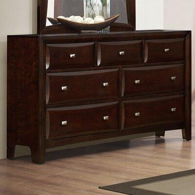 Mateo 7 Drawer Standard Dresser