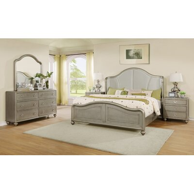 Aiden Platform 5 Piece Bedroom Set Size: Queen