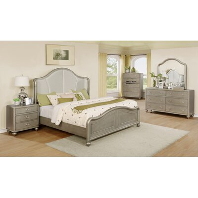 Aiden Platform 4 Piece Bedroom Set Size: King