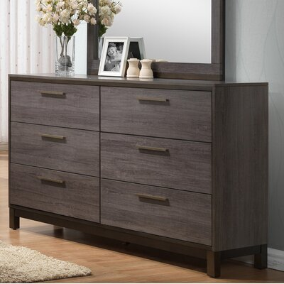 Mandy 9 Drawer Double Dresser
