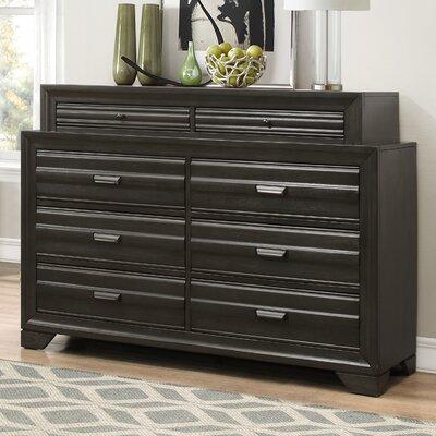 Loiret Wood 8 Drawer Dresser