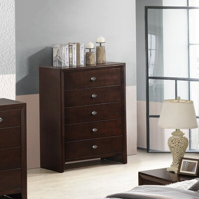 Gloria 5 Drawer Chest