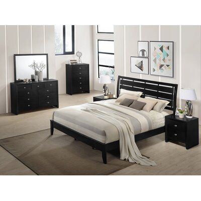 Gloria Panel Configurable Bedroom Set