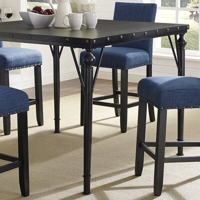 Tasha Wood Counter Height Dining Table