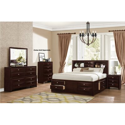 Oreland Platform 4 Piece Bedroom Set Size: King