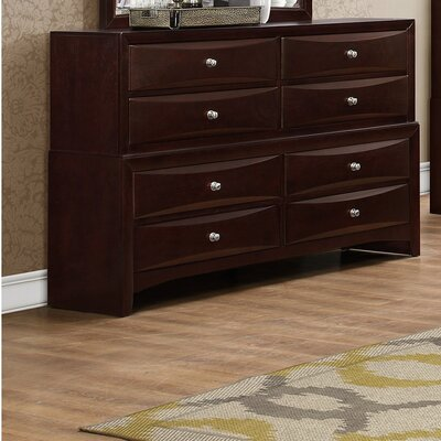 Oreland 8 Drawer Double Dresser