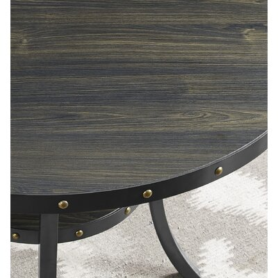 Raquel Espresso End Table