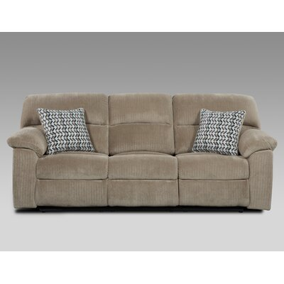 Litherland Reclining Sofa Upholstery: Taupe