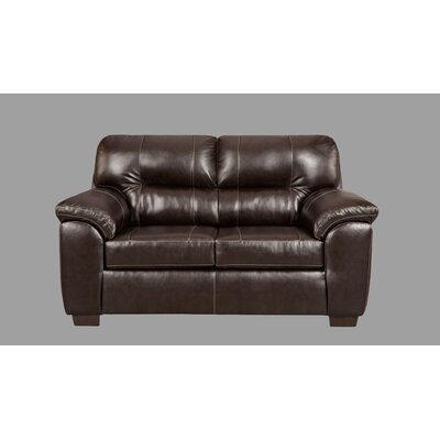 Littleton Loveseat Upholstery: Chocolate