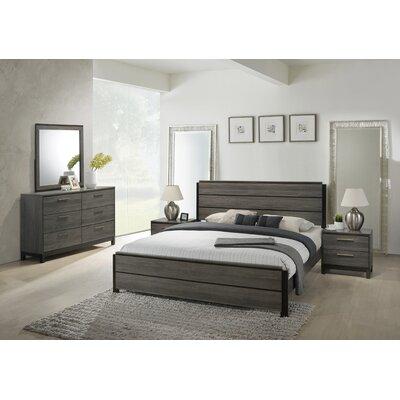 Mandy Panel 5 Piece Bedroom Set Size: Queen