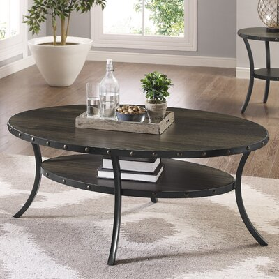 Raquel Espresso Coffee Table